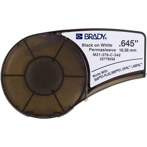 Картридж M21-375-C-342 с термоусадочной трубкой PERMASLEEVE™ B-342 для принтера BMP21