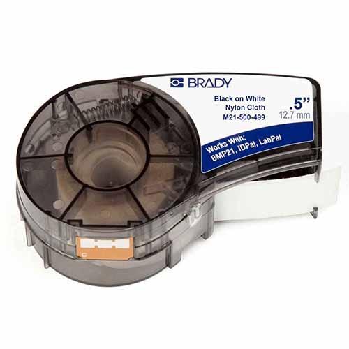 Картридж M21-500-499 (PAL-500-499) для принтера BMP21 c этикеткой из нейлоновой ткани B-499